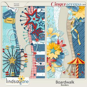 Boardwalk Borders by Lindsay Jane