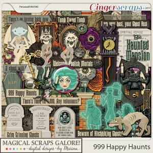 999 Happy Haunts (page kit)