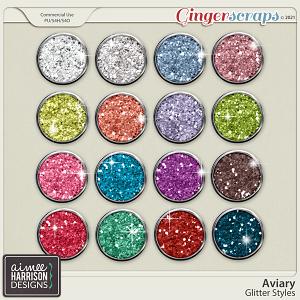 Aviary Glitters by Aimee Harrison