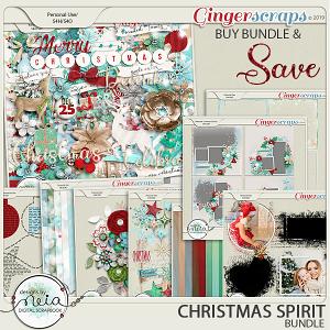 Christmas Spirit - Bundle - by Neia Scraps
