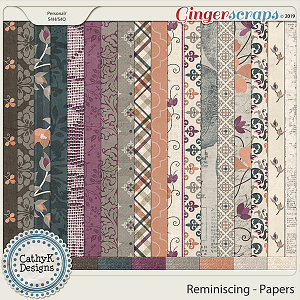 Reminiscing - Papers by CathyK Designs