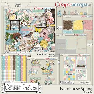 Farmhouse Spring - Bundle by Connie Prince