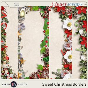 Sweet Christmas Borders by Karen Schulz and Linda Cumberland Designs
