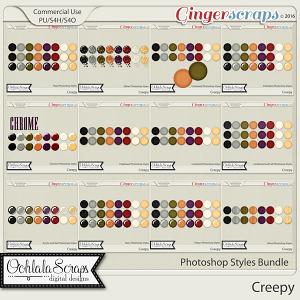 Creepy CU Photoshop Styles Bundle