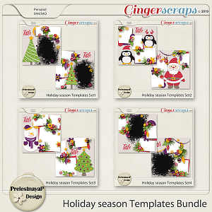 Holiday season Templates Bundle