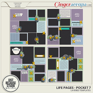 Life Pages Pocket 7 by JB Studio