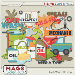 Look Who's Driving MECHANIC PACK by MagsGraphics