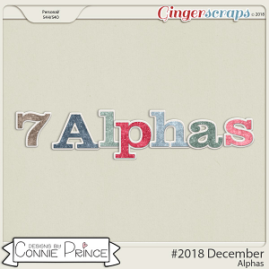 #2018 December - Alpha Pack AddOn by Connie Prince