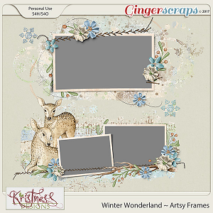 Winter Wonderland Arsty Frames