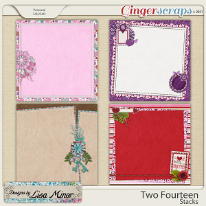 Two Fourteen Stacks from Designs by Lisa Minor