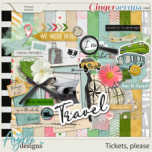Tickets, please by Angelle Designs