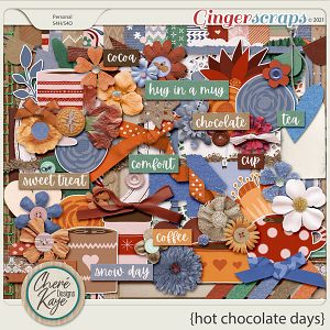 Hot Chocolate Days by Chere Kaye Designs