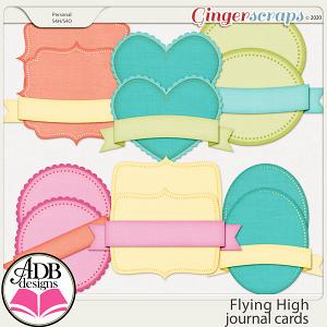 Flying High Journal Cards by ADB Designs