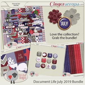 Document Life July 2019 Bundle by Luv Ewe Designs