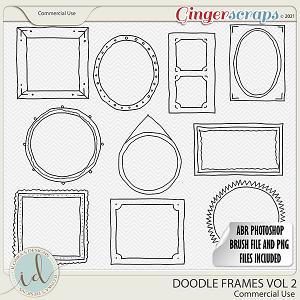 CU Doodle Frames Vol 2 by Ilonka's Designs