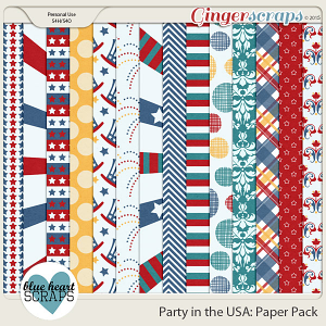 Party in the USA Paper Pack