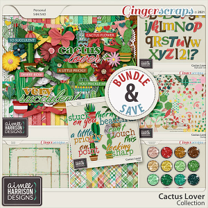 Cactus Lover Collection by Aimee Harrison