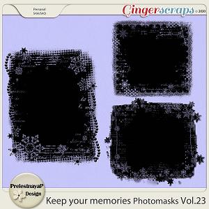 Keep your memories Photomasks Vol.23
