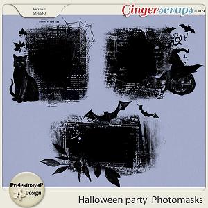 Halloween party Photomasks