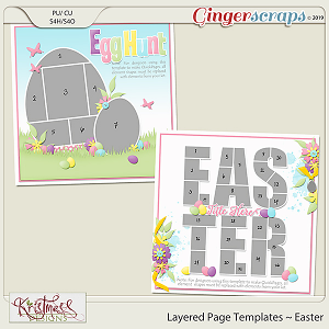 Layered Page Templates ~ Easter
