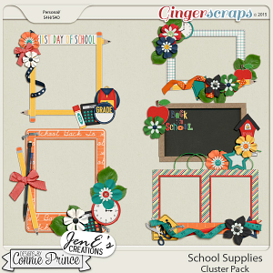 School Supplies - Cluster Pack