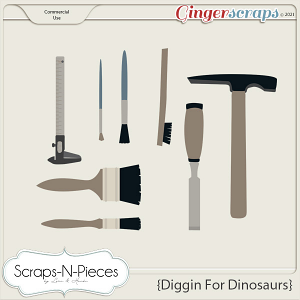 Diggin' For Dinosaurs CU2 - Scraps N Pieces