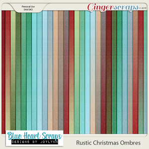 Rustic Christmas Ombres