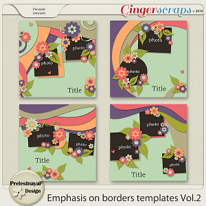 Emphasis on borders Templates Vol.2
