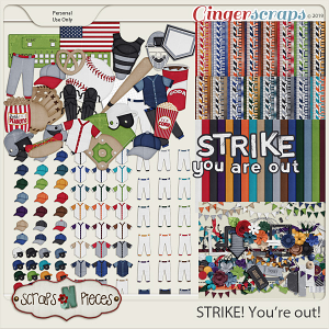 Strike You're Out bundle by Scraps N Pieces