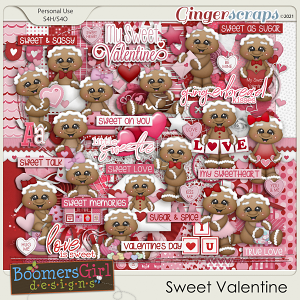 Sweet Valentine by BoomersGirl Designs