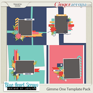 Gimme 1 Template Pack