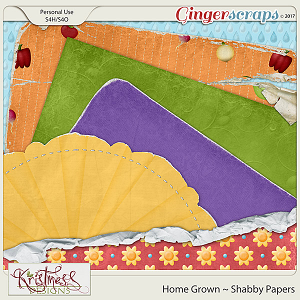 Home Grown Shabby Papers