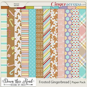 Frosted Gingerbread | Paper Pack
