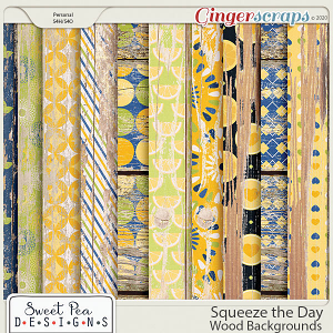 Squeeze the Day Wood Backgrounds