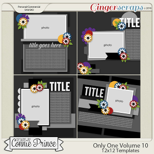 Only One Volume 10 - 12x12 Temps (CU Ok)
