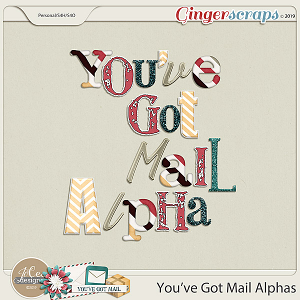 You've Got Mail Alphas by JoCee Designs