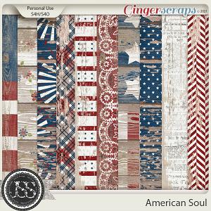 American Soul Worn Wood Papers