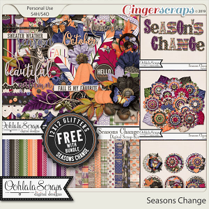 Seasons Change Digital Scrapbook Bundle