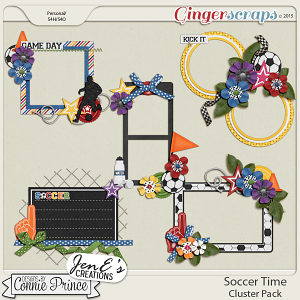 Soccer Time - Cluster Pack