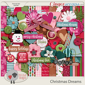 Christmas Dreams Kit by Luv Ewe Designs