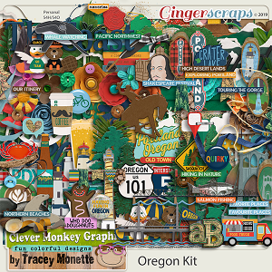 Oregon Kit by Clever Monkey Graphics