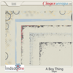 A Boy Thing Edges by Lindsay Jane