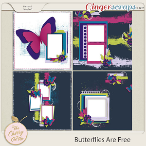 The Cherry On Top Butterflies Are Free Templates