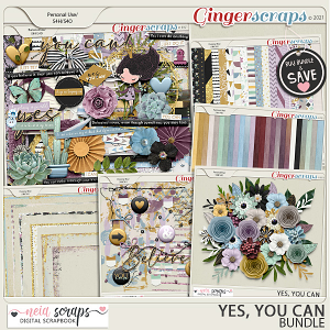 Yes, you can! - Bundle - by Neia Scraps