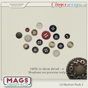 CU PNG Buttons Pack 2 by MagsGraphics