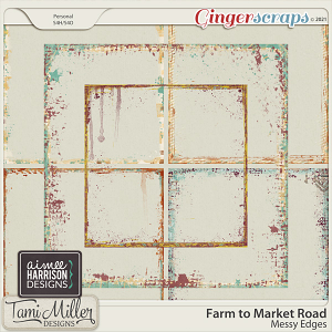 Farm to Market Road Messy Edges by Aimee Harrison and Tami Miller Designs