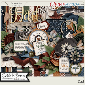 Dad Digital Scrapbook Kit