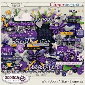 Wish Upon A Star - Elements by Aprilisa Designs