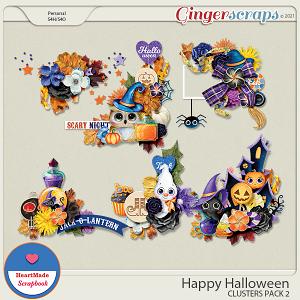 Happy Halloween - clusters pack 2