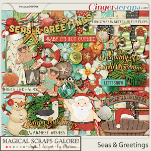 Seas & Greetings (page kit)